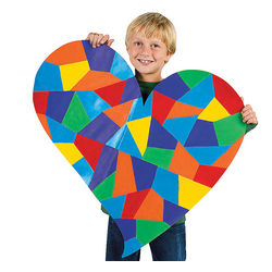 DIY Giant Paper Hearts
