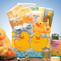 Just Duckey New Baby Gift Box