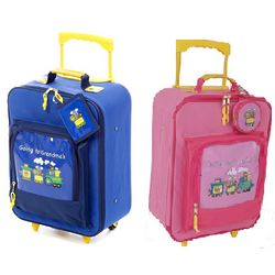 "Going to Grandma's Children's 16"" Wheeled Upright Suitcase"