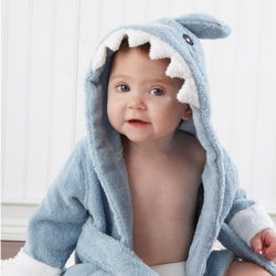 Shark Baby Terry Robe