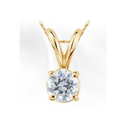 Create Your Own Diamond Solitaire Pendant