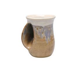 Stoneware Handwarmer Mug