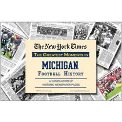 Michigan Wolverines Football's Greatest Moments Book