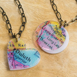 Personalized Hometown Necklace