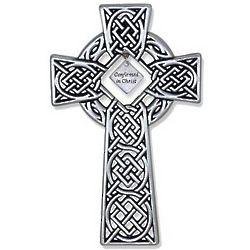 Celtic Confirmation Cross Plaque