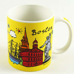 Boston Attraction Mug