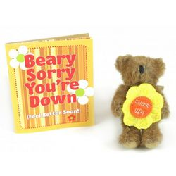 Beary Sorry You're Down Bear and Book Gift Set