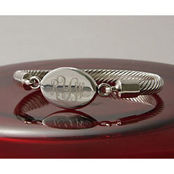 Personalized Rope Bangle