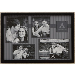 4 Picture Collage Personalized Canvas Art