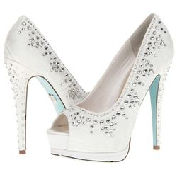 Ivory Vow High Heels