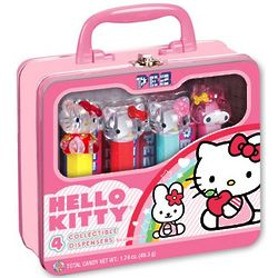 Hello Kitty Pez Dispensers Purse