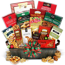 Delectable Treats Holiday Gift Basket