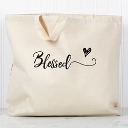 Blessed Heart Tote