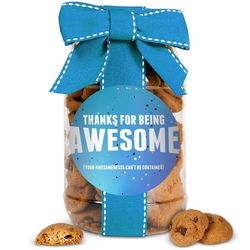 Thanks for Being Awesome Jar of Cookies