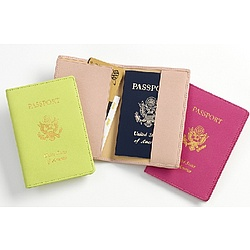 Passport Cover with Foil Stamped US Seal