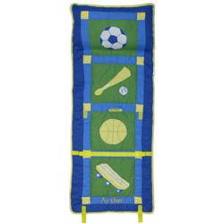 Personalized Boy's Sports Nap Roll