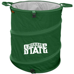 Michigan State Spartans Collapsible Trash Can