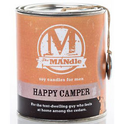 The MANdle Can Candle