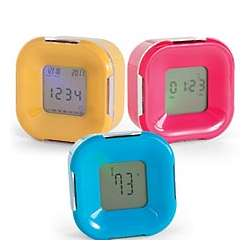 4-in-1 Digital Flip Alarm Clock