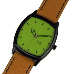 Orange and Green Design Watch