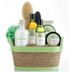 Simply Be Well Deluxe Spa Gift Basket