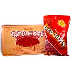 Red Hots Candy Tin