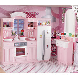 3-in-1 Dollhouse Furniture Set
