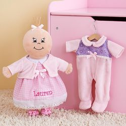 Personalized Newborn Baby Doll
