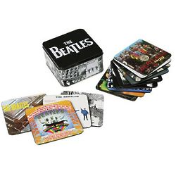 The Beatles Album Cover Beverage Coasters