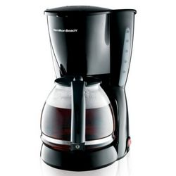 12 Cup Coffee Maker with Cone-Shaped Filter Basket