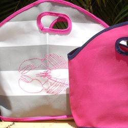 Monogrammed gg Color Canvas Bag