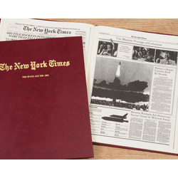 "Personalized New York Times ""Conquest of Space"" Book"