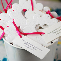 Bucket of Love Plantable Seed Party Favors