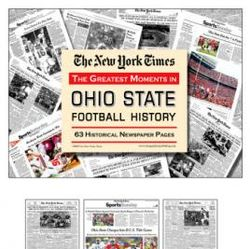 Ohio State Buckeyes Football's Greatest Moments Book