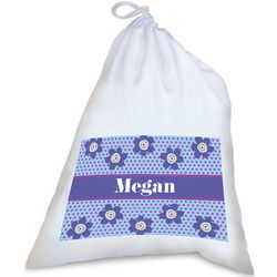 Personalized Floral Pattern Laundry Bag