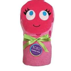 Children's Ladybug Hooded Towel