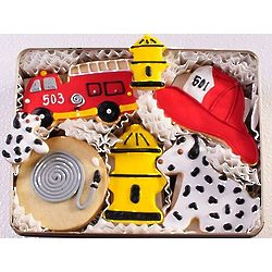 Firehouse Sugar Cookie Tin
