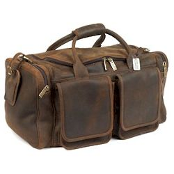 Hamptons Distressed Leather Duffle
