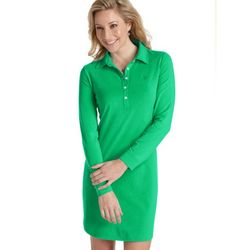 Women's ZnO UPF 50+ Polo Dress