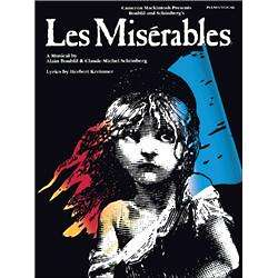 Les Miserables Piano, Vocal and Guitar Book and CD