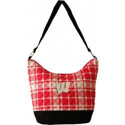 Wisconsin Badgers Quilted Handbag