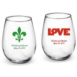 Personalized Design Stemless Wine Glass