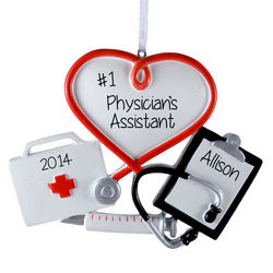 Personalized Physician's Assistant Ornament