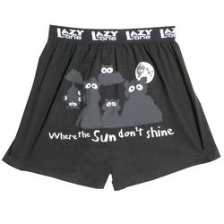 Where the Sun Don't Shine Boxer Shorts