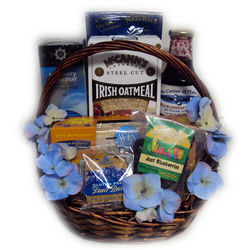 Blueberry Breakfast Healthy Gift Basket