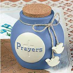 Prayers Stoneware Jug