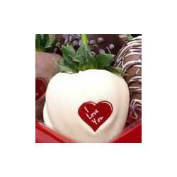 I Love You Chocolate Covered Strawberry Gift Box