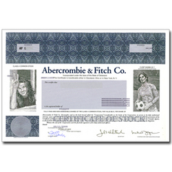 A Real Share of Abercrombie & Fitch Stock