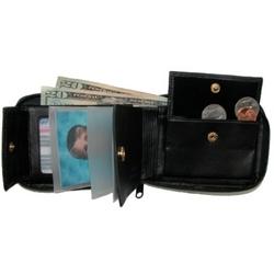 Men's Zip Around Convertible Wallet