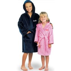Big Sister or Big Brother Terry Velour Hooded Bath Robe